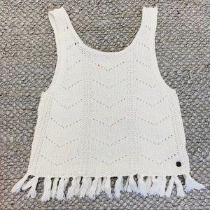 Girls Roxy Crochet Top